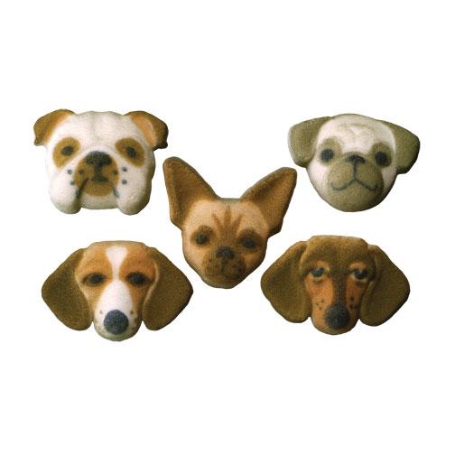 dog collection 1 12quot 5pkg