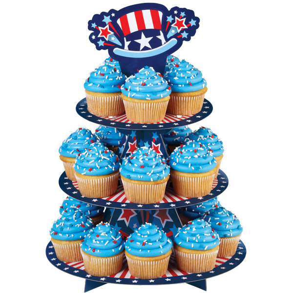 wilton uncle sam treat stand