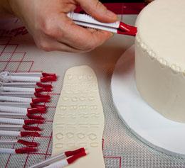 Бусинки на торт как сделать 552