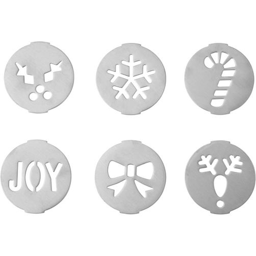 Wilton Fit Right Holiday Cookie Press Disc Set